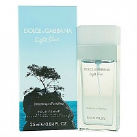 Женская парфюмерия Dolce And Gabbana Light Blue Dreaming in Portofino (Дольче Габбана Лайт Блю Дриминг ин Портофино) от интернет-магазина aromaniya.ru