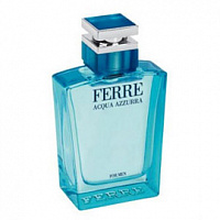 Мужская парфюмерия Gianfranco Ferre Acqua Azzurra For Men (Джанфранко Ферре Аква Аззура фо Мен) от интернет-магазина aromaniya.ru