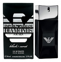 Мужская парфюмерия Armani emporio Diamonds black carat pour homme (Джорджио армани эмпорио Даймондс блэк карат пур хом) от интернет-магазина aromaniya.ru